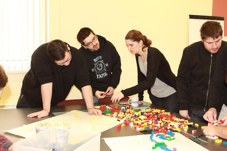 "Atelier ""Ma ville en lego"", méthode agile SCRUM - 1"