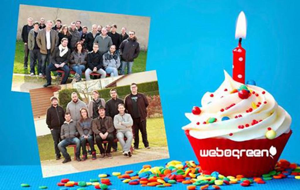 1 an WebOgreen