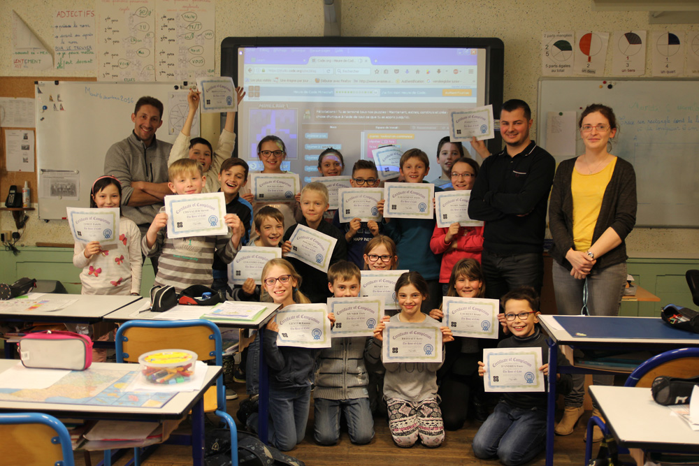 Hour of Code Génicourt
